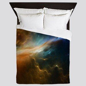 Deep Space Nebula Queen Duvet