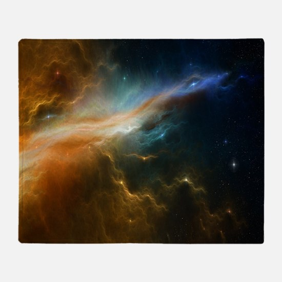 Deep Space Nebula Throw Blanket