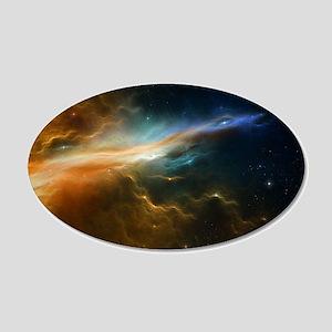 Deep Space Nebula Wall Decal