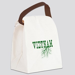 Vietnam Roots Canvas Lunch Bag