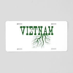 Vietnam Roots Aluminum License Plate