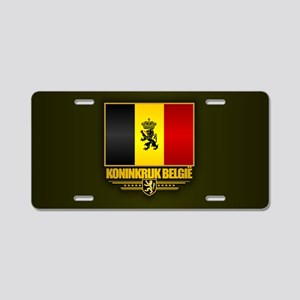 Kingdom of Belgium Aluminum License Plate