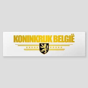 Kingdom of Belgium Bumper Sticker