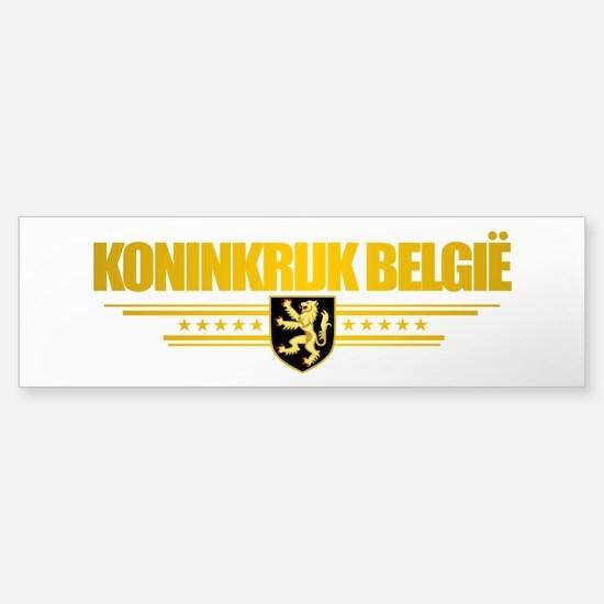 Kingdom of Belgium Bumper Bumper Bumper Sticker