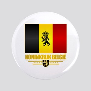 "Kingdom of Belgium 3.5"" Button"