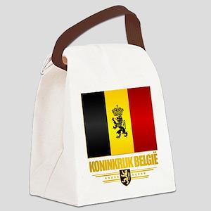 Kingdom of Belgium Canvas Lunch Bag
