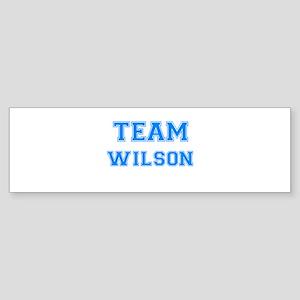 TEAM WILSON Bumper Sticker