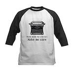 Make Me Care Baseball Jersey