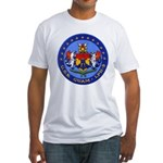 USS GUAM Fitted T-Shirt