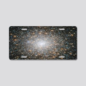 Hubble Deep Space View Aluminum License Plate