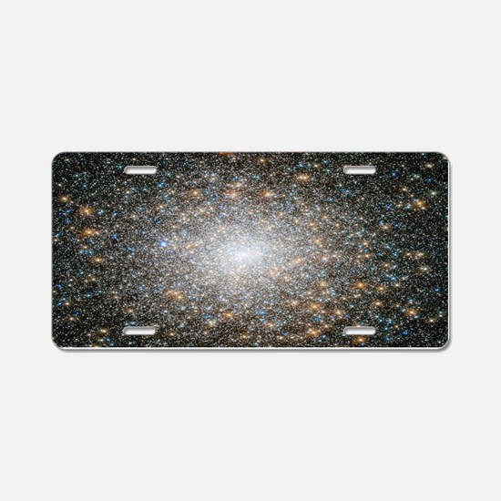Hubble Deep Space View Aluminum License Plate