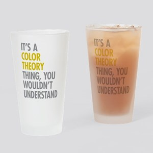 Color Theory Thing Drinking Glass