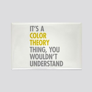 Color Theory Thing Rectangle Magnet