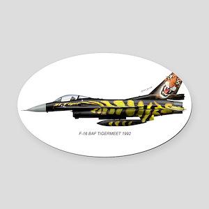 bafTiger92 Oval Car Magnet