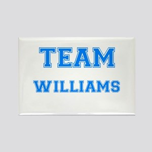 TEAM WILLIAMS Rectangle Magnet
