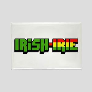 Irish-Irie Rectangle Magnet