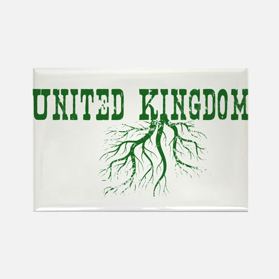 USA Roots Rectangle Magnet
