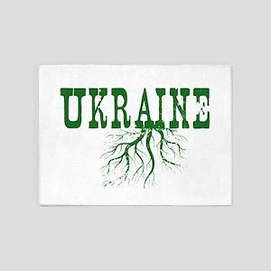 Ukraine Roots 5'x7'Area Rug