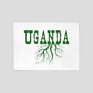 Uganda Roots 5'x7'Area Rug
