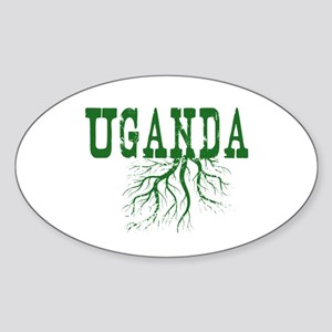 Uganda Roots Sticker (Oval)