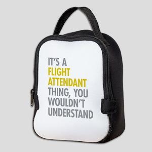 Flight Attendant Thing Neoprene Lunch Bag