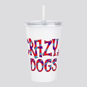 Crazy About Dogs Acrylic Double-wall Tumbler