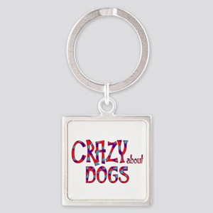 Crazy About Dogs Keychains