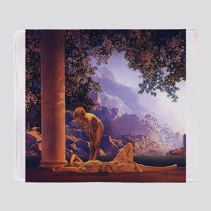 Maxfield Parrish Daybreak Nouveau Classical Throw