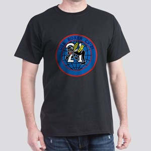 CV-21 USS BOXER Multi-Purpose Aircraft Car T-Shirt