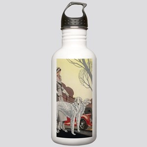 Deco Lady Walking Borz Stainless Water Bottle 1.0L