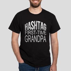 First Time Grandpa Dark T-Shirt