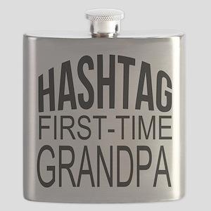 First Time Grandpa Flask