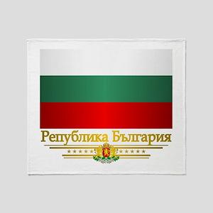 Flag of Bulgaria Throw Blanket