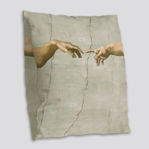 Creation of Adam Fingers Sistine Michelangelo Burl