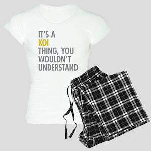 Its A Koi Thing Women's Light Pajamas