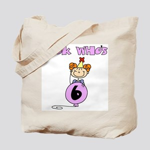 Look Who's 6 Tote Bag