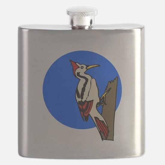 woodpecker Flask