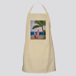 Caribbean Strand with Surf Boards Apron