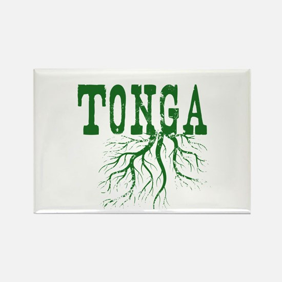 Tonga Roots Rectangle Magnet