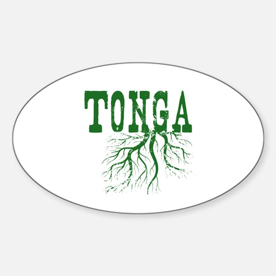 Tonga Roots Sticker (Oval)