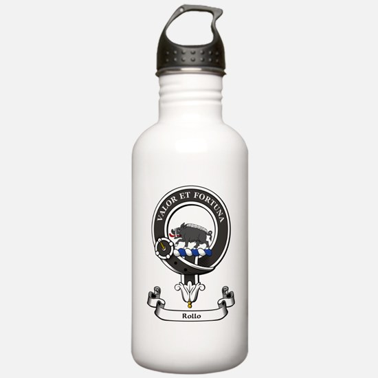 Badge-Rollo [Powhouse] Sports Water Bottle
