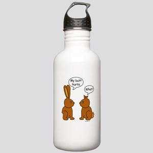 Funny Chocolate Bunnie Stainless Water Bottle 1.0L
