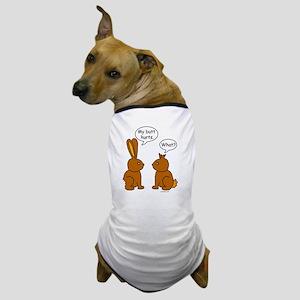 Funny Chocolate Bunnies Dog T-Shirt