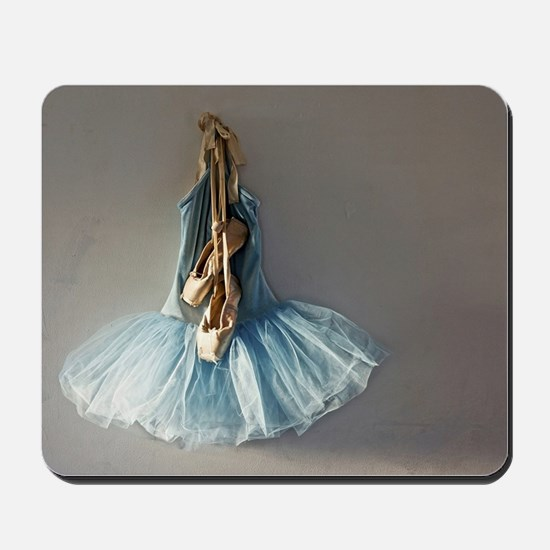 Worn Pointe Shoes On Top Of Ballet Tutu Outfit Mou