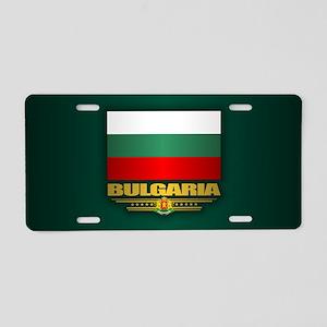 Flag of Bulgaria Aluminum License Plate