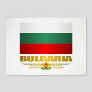 Flag of Bulgaria 5'x7'Area Rug