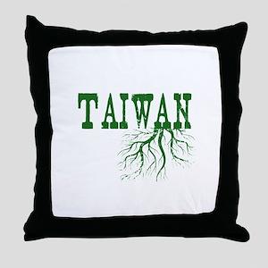 Taiwan Roots Throw Pillow