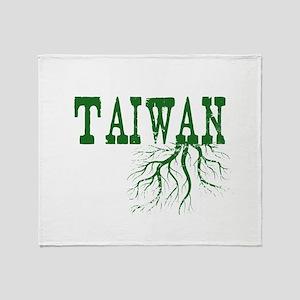 Taiwan Roots Throw Blanket