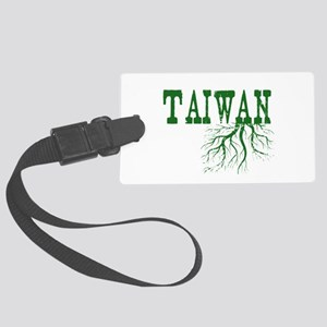 Taiwan Roots Large Luggage Tag