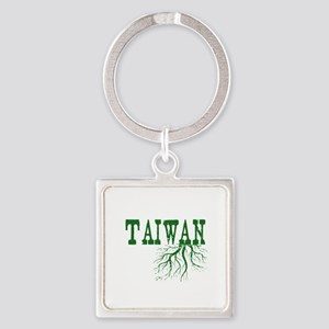 Taiwan Roots Square Keychain